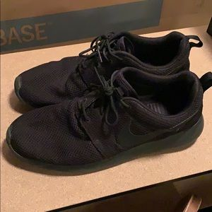 Nike Roshe Running shoes, Black